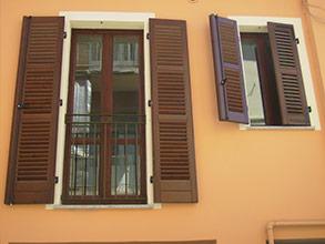 Finestre in alluminio effetto legno excellent serramenti - Griglie per finestre esterne ...